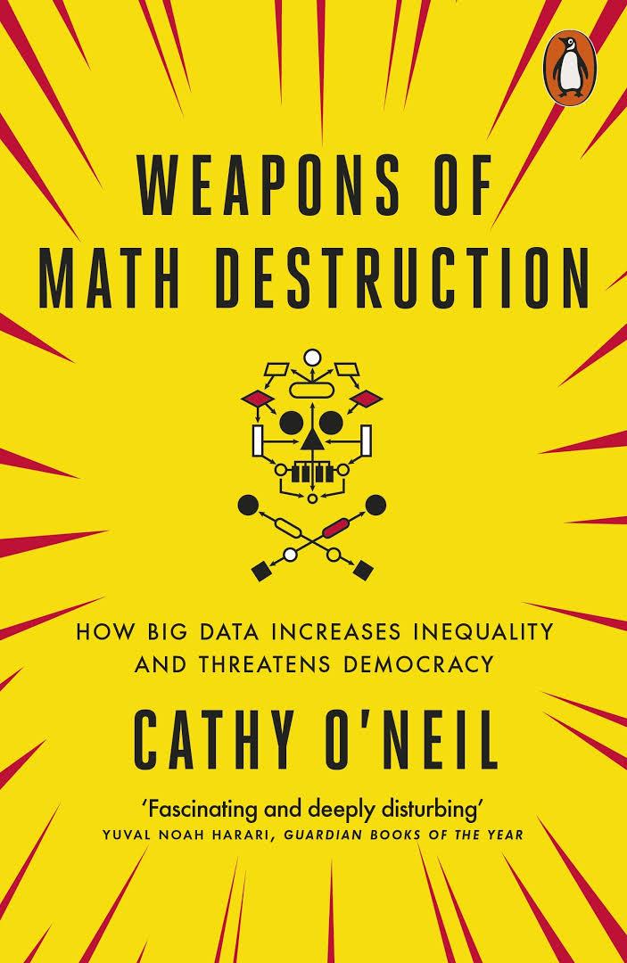 Cathy O'Neil in Edinburgh: September 20th