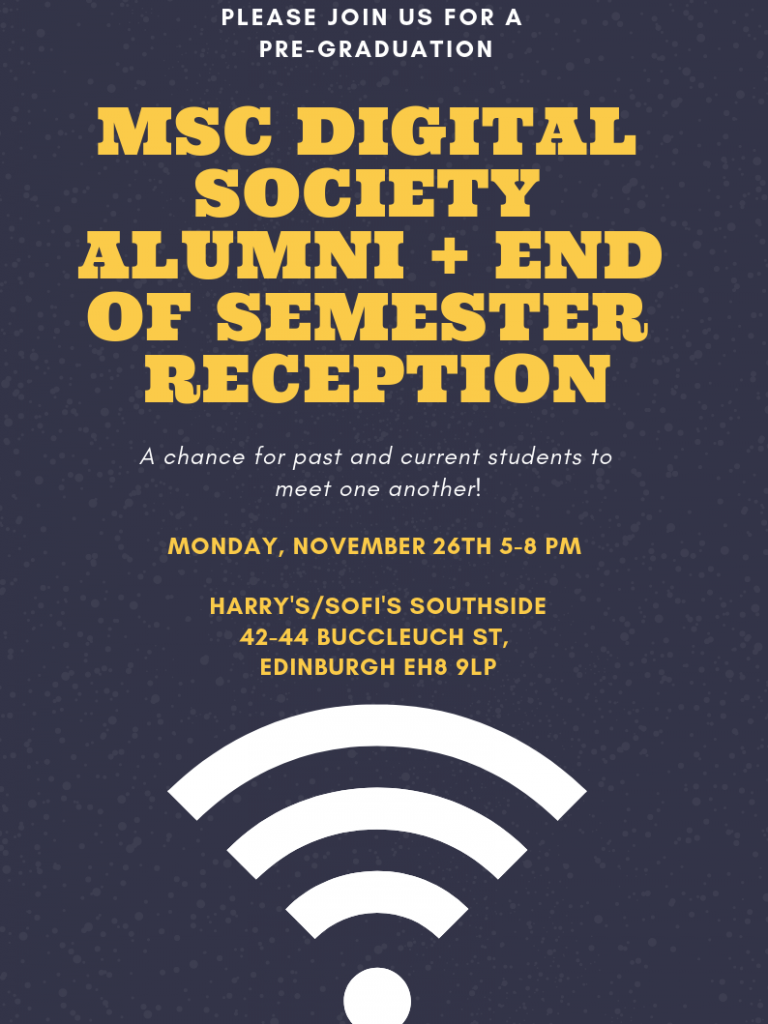 MSc Alumni Mixer + End of the Year Reception
